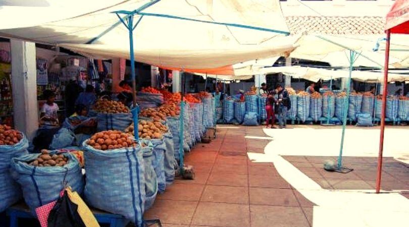 patate mercato bolivia