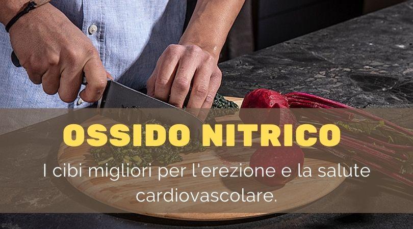 ossido nitrico cibi